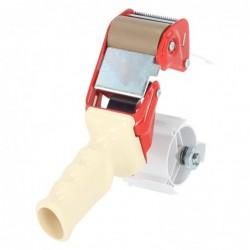 Tape Dispenser - Dozensluiter - Rood - Achteraanzicht zonder rol