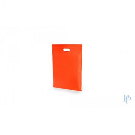 Non Woven Tassen - Oranje - Uitgesneden handvaten