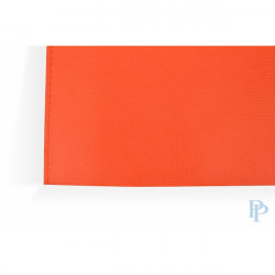 Non Woven Tassen - Oranje - Uitgesneden handvaten - Detail