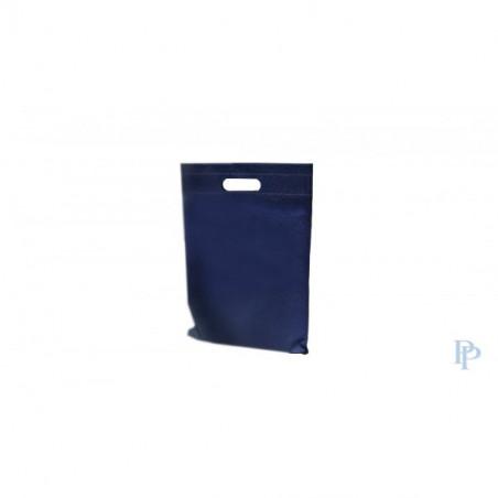 Non Woven Tassen - Blauw - Uitgesneden handvaten
