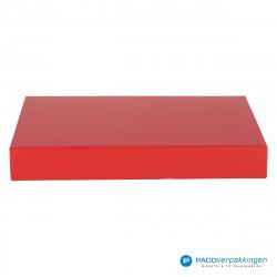 Magneetdoos A4 - Rood Mat (Toscana) - Vooraanzicht
