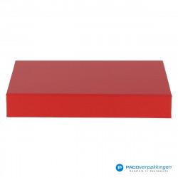 Magneetdoos A5 - Rood Mat (Toscana) - Vooraanzicht