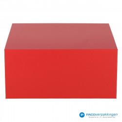 Magneetdoos - Rood Mat (Toscana) - Vooraanzicht
