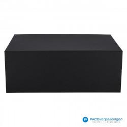 Magneetdoos - Zwart Mat (Toscana) - Vooraanzicht dicht