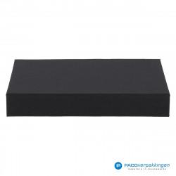 Magneetdoos A5 - Zwart Mat (Toscana) - Vooraanzicht dicht