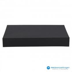 Magneetdoos A4 - Zwart Mat (Toscana) - Vooraanzicht dicht