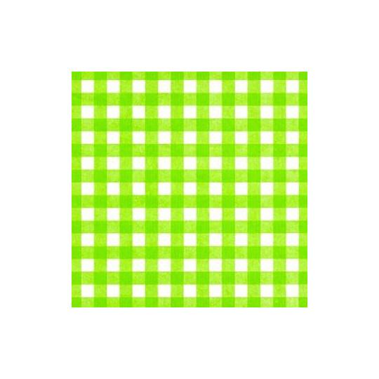 Inpakpapier - Ruiten - Groen (Nr. 1002)