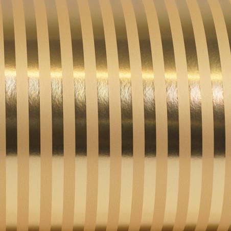 Inpakpapier - Strepen - Goud (Nr. Gp41)