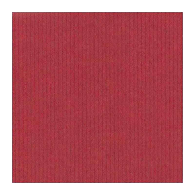 Inpakpapier - Strepen - Bruin en rood kraft (Nr. 99) - Close-up