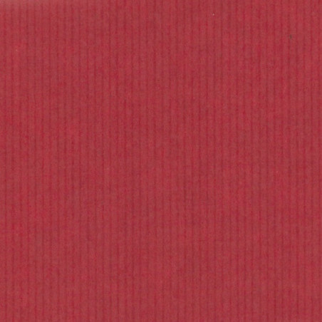 Inpakpapier - Strepen - Bruin en rood kraft (Nr. 99)