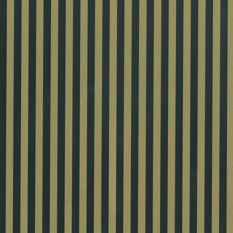 Inpakpapier - Strepen - Zwart op goud (Nr. 540) - Close-up