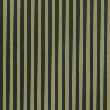 Inpakpapier - Strepen - Zwart op goud (Nr. 540)