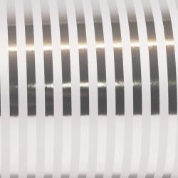 Inpakpapier - Strepen - Zilver (Nr. Zp12) - Close-up