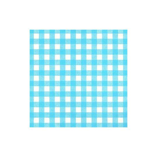 Inpakpapier - Ruiten - Blauw op wit (Nr. 1026)