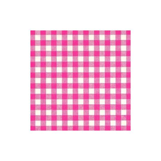Inpakpapier - Ruiten - Roze op wit (Nr. 1020)