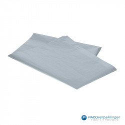 Zijdepapier - Zilver - Zijaanzicht