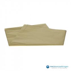Zijdepapier - Goud - Vooraanzicht