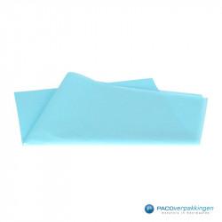 Zijdepapier - Baby Blauw - Vooraanzicht