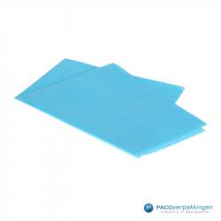 Zijdepapier - Turquoise - Zijaanzicht