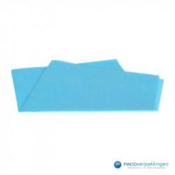 Zijdepapier - Turquoise - Vooraanzicht
