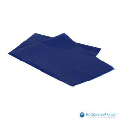 Zijdepapier - Donkerblauw - Zijaanzicht