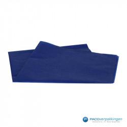Zijdepapier - Donkerblauw - Vooraanzicht
