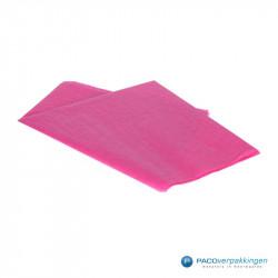 Zijdepapier - Cerise (Fuchsia) - Zijaanzicht