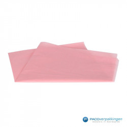 Zijdepapier - Baby Roze - Vooraanzicht