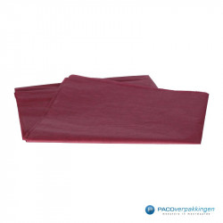 Zijdepapier - Bordeaux Rood - Vooraanzicht