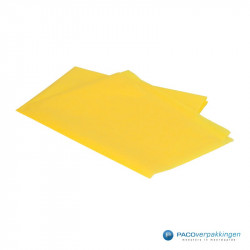 Zijdepapier - Geel - Zijaanzicht