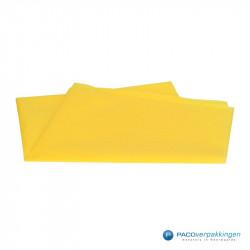 Zijdepapier - Geel - Vooraanzicht
