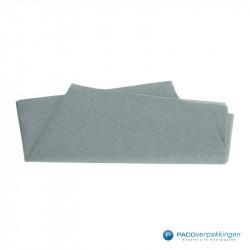 Zijdepapier - Grijs - Vooraanzicht