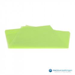 Zijdepapier - Appelgroen - Vooraanzicht