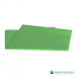 Zijdepapier - Grasgroen - Vooraanzicht