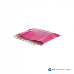 Verzendzakken - Fuchsia - Zijaanzicht