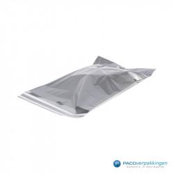 Verzendtassen - Zilver - Zijaanzicht