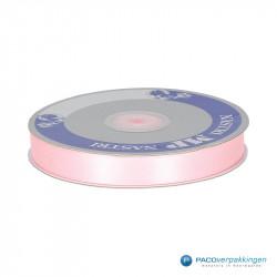 Satijn lint - Roze - Vooraanzicht