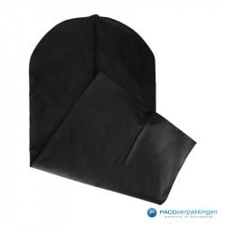 Kledinghoes - Zwart - Non woven - Vooraanzicht