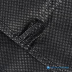 Kledinghoes - Zwart - Non woven - Detail