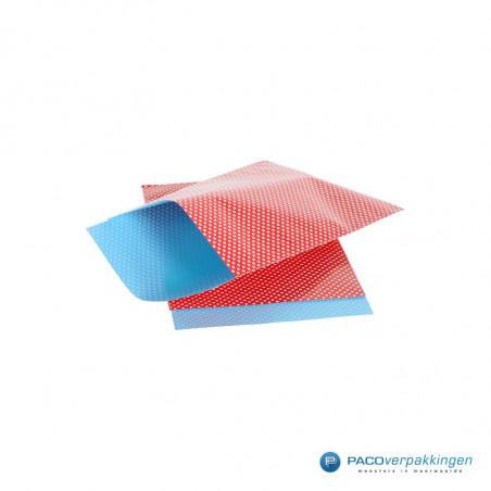Papieren zakjes - Stippen - Rood (Nr. 962)