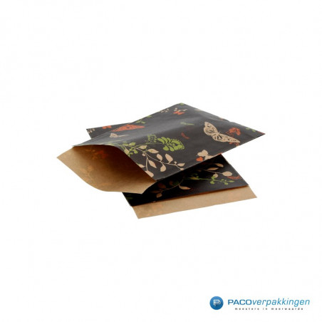 Papieren zakjes - Vlinder (Nr. 105)