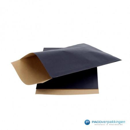 Papieren zakjes - Donkerblauw Kraft (Nr. 1508)