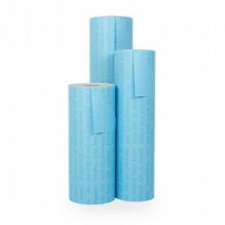 Inpakpapier - Letters - Blauw (Nr. 1120) - Rollen