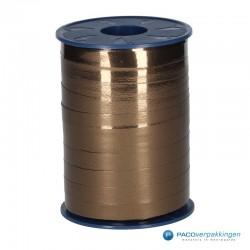 Krullint - Bruin metallic (622) - Vooraanzicht