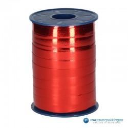 Krullint - Rood metallic (609) - Vooraanzicht
