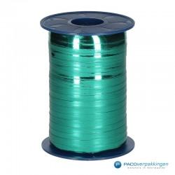 Krullint - Donker groen metallic (035) - Vooraanzicht