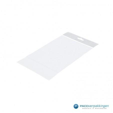 PP zakken met eurosleuf - Transparant