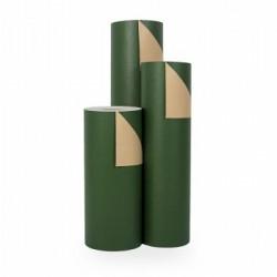 Inpakpapier - Effen - Groen kraft (Nr. 1504) - Rollen