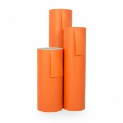 Inpakpapier - Effen - Oranje (Nr. 1707) - Rollen