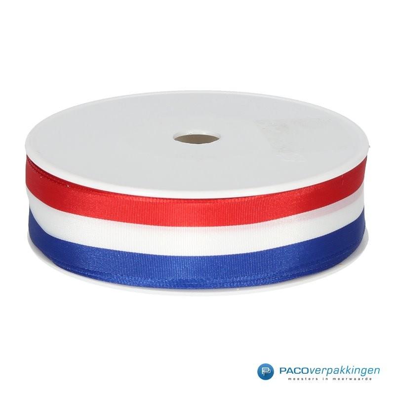 Inpaklint - Holland - Rood / Wit / Blauw - Rol